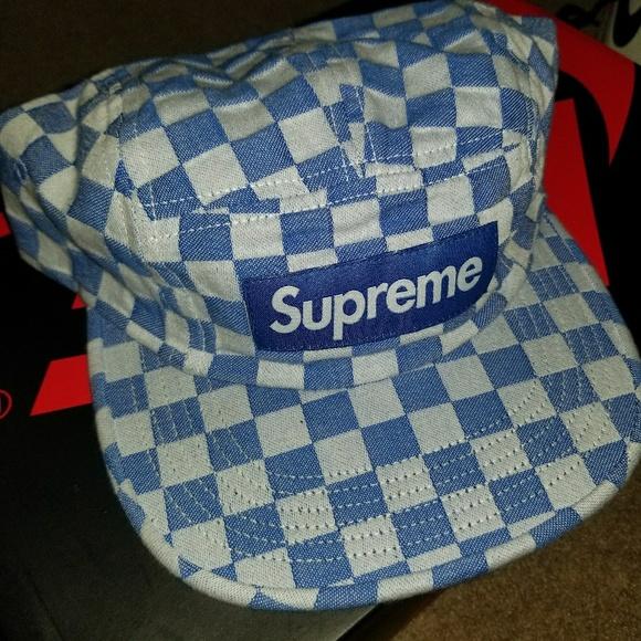 1bc15ad4ec2 promo code for supreme checkered box logo hat 8ba4f 2f258